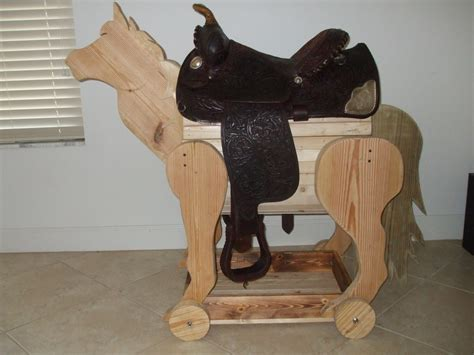 saddle stand plans woodworking working idea