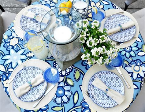 summer table settings a summer table outdoor ideas party centsational girl