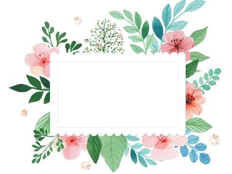 flower frame template color flower بحث frame border