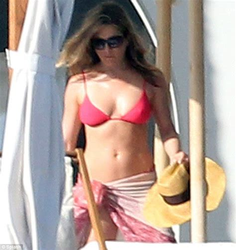 Aniston Slips Into A Pink For Day In The Sun by Katching My I Aniston Slips Into A On