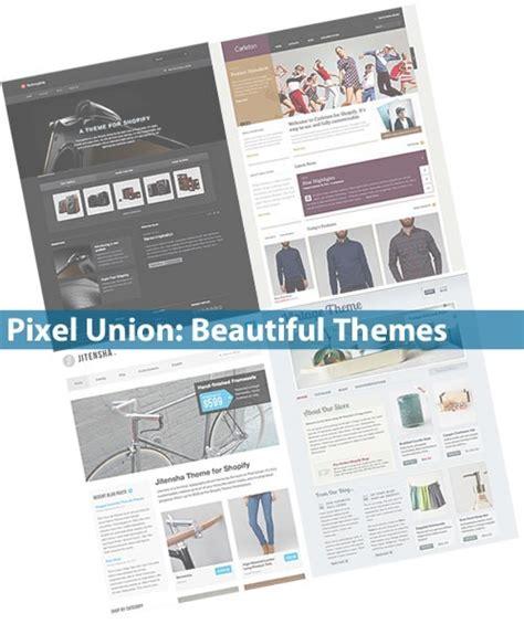 shopify themes pixel union pixel union s beautiful shopify themes global nerdy