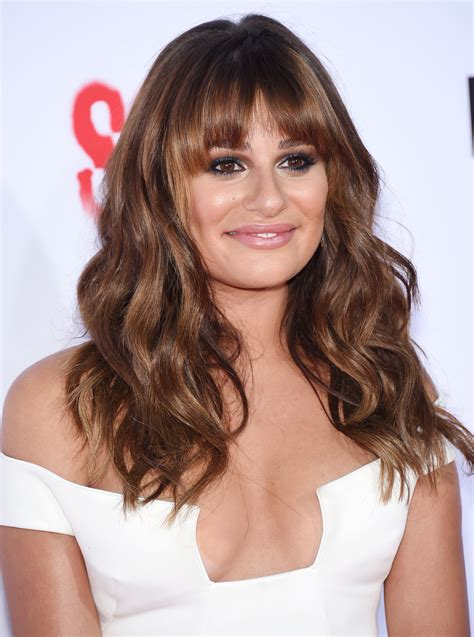 which hair colour does lea michele wear for loreal lea michele s hair has never looked better and here s why