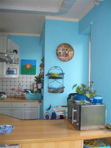 blaue küche schlafzimmer gestalten dachschr 228 ge