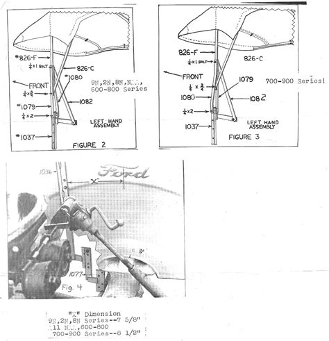 1956 ford 600 tractor wiring diagram
