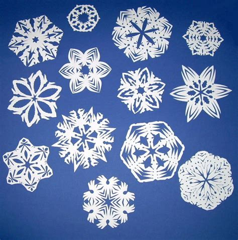 Paper Snowflakes - paper snowflakes bead happily after