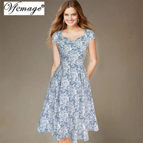 Casual Print Dresses From Ruche by Aliexpress Buy Vfemage Womens Summer Ruched