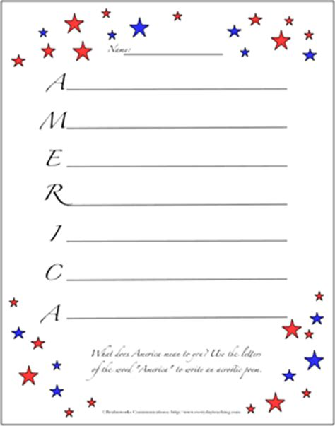 memory poem template memorial day acrostic poems