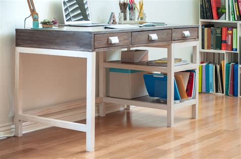 modern farmhouse desk   drawers sprucd market