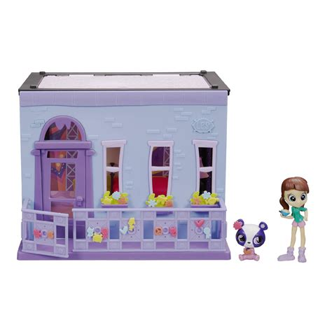 Promo Hsanhe 6700 Mini Pet Shop Model 3 In 1 littlest pet shop blythe bedroom style set toys dolls accessories horses