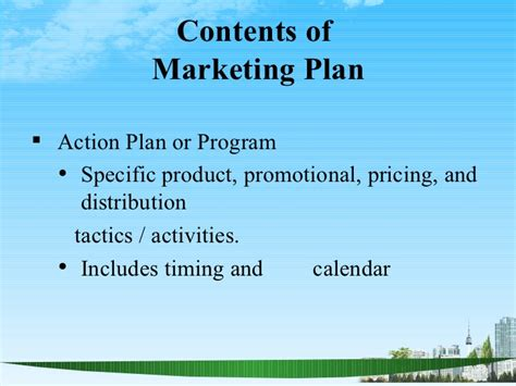 Marketing Strategy For Mba Program by The Marketing Plan Ppt Bec Doms Bagalkot Mba