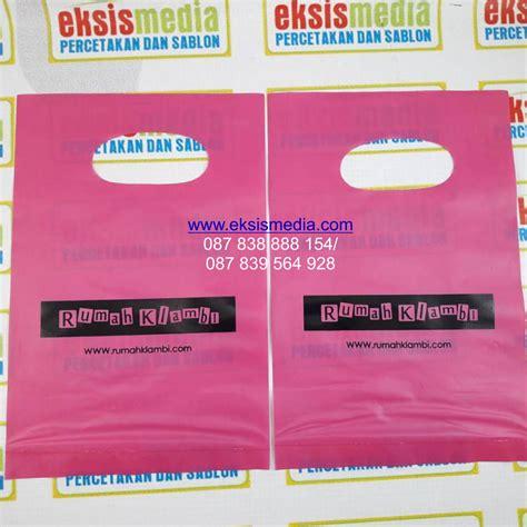 Kantong Murah kantong plastik murah di larantuka cetak sablon murah