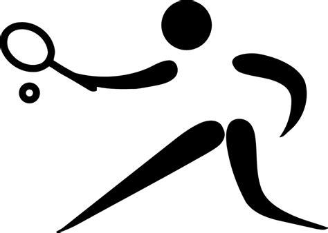 sports logo design png image vectorielle gratuite tennis sports pictogramme