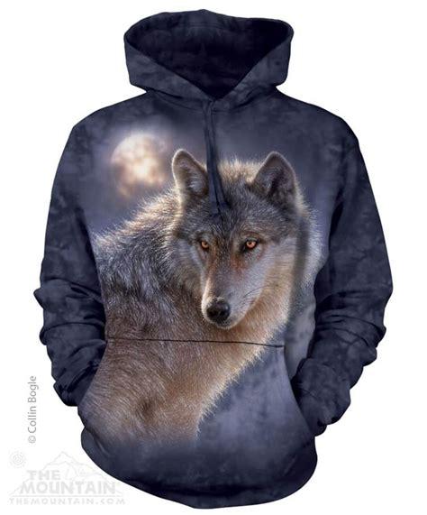 Hoodie Wolf adventure wolf hoodie sweatshirt