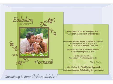 Hochzeit Einladung Text by Einladungskarten Hochzeit Text Einladungskarten Hochzeit
