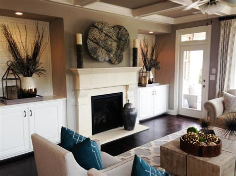 living room mantel ideas cheap chic mantel ideas hgtv