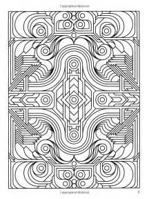 deco tech geometric coloring book kleurplaten coloring