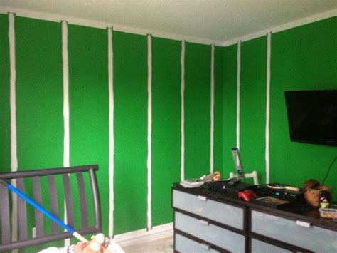youth football bedroom how to paint an nfl football field in your kid s bedroom