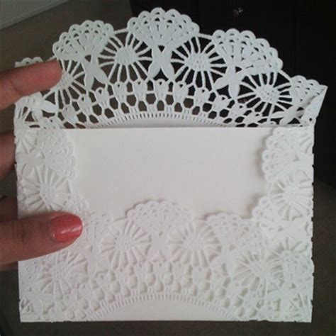 How To Make Paper Doily Envelopes - 586 best images about pretty paper doilies on