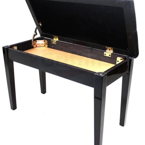griffin piano bench premium antique black piano bench by griffin solid wood