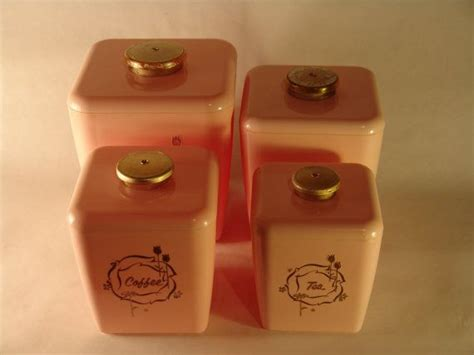 pink kitchen canister set 49 best ideas about vintage canisters on