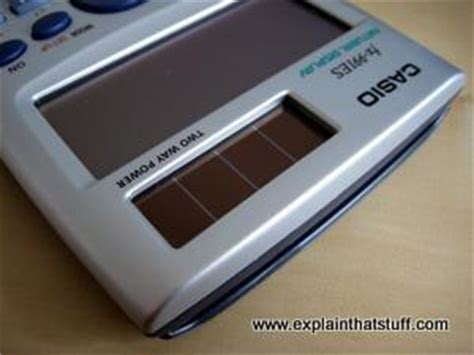 home solar panel calculator how do photoelectric cells work explain that stuff