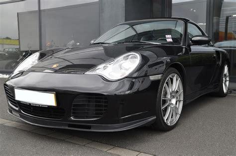 Schwarzer Porsche by Porsche 911 996 Turbo Cabrio Schwarz Kfz Versteigerung