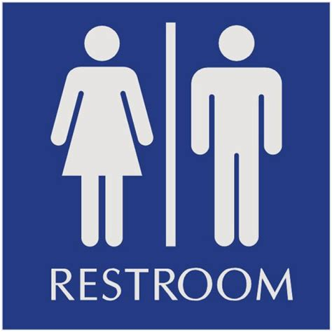 sign for bathroom image gallery restroom signs