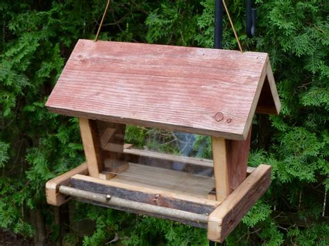 Bird Feeder Barn Rustic Wooden Barn Board Bird Feeder Bird Feeders
