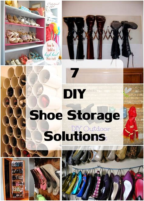 diy solutions 7 diy shoe storage solutions diy craft projects