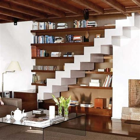 Living Room Stairs Ideas by 15 Living Room Stairs Storage Ideas Shelterness