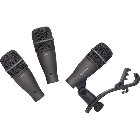 samson dk703 3 drum microphone kit sadk703 b h photo