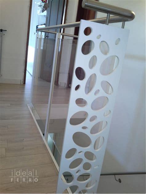ringhiera acciaio e vetro ringhiera in ferro e acciaio idealferro