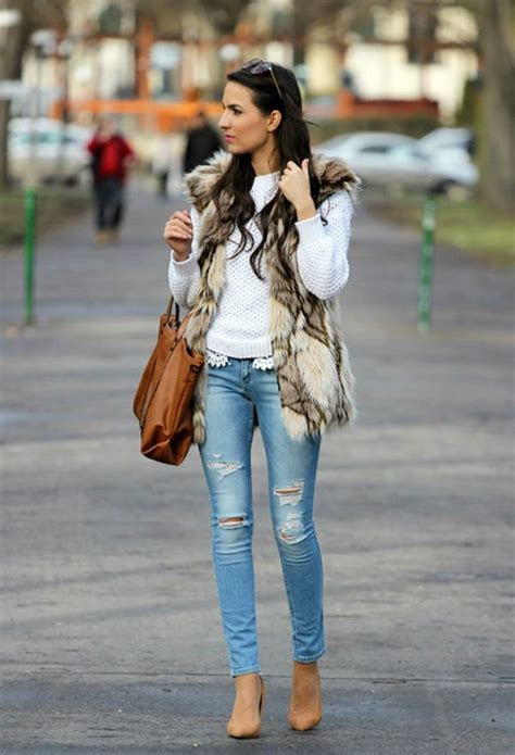 classy  comfy ripped jeans outfits ohh