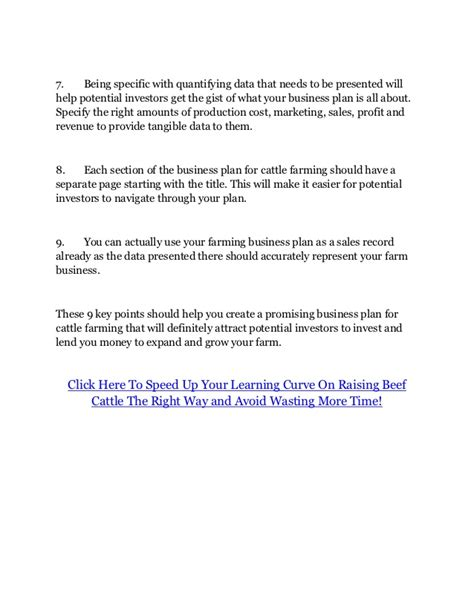 cattle business plan template business plan for beef cattle farming writerzane web fc2