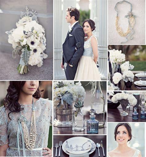 Modern & Vintage Pale Blue Wedding   Wedding to be