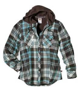 Plaid Flannel Duvet Dickies Jackets Dickies Fj350 Women S Plaid Flannel Shirt