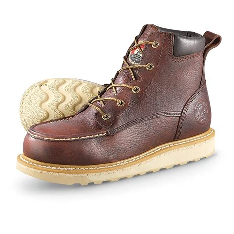 s setter 6 quot wedge work boots briar turbo vegas