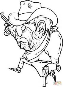 cowboy coloring pages cowboy running coloring page free printable coloring pages