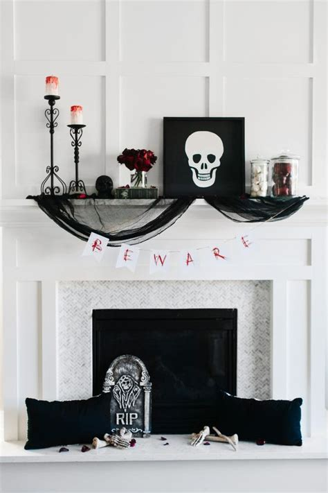 elegant halloween home decor top 16 elegant mantel decor for halloween easy interior