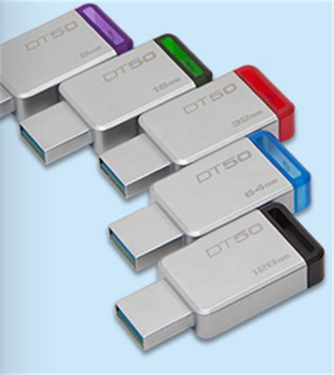 Kingston Datatraveler 50 Usb 3 1 32gb Dt50 32gbfr Diskon datatraveler 50 usb 3 1 drive 8gb 128gb kingston
