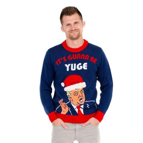 donald trump xmas sweater donald trump christmas sweater 2017 quot it s gonna be yuge