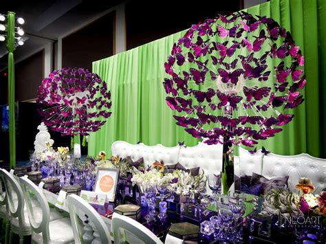 Quinceanera Themes Butterflies | butterfly centerpieces by josedesigns com bizbash expo