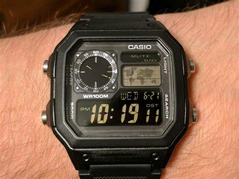 Casio Ae1200 Original Black digital appreciation quot bond quot casio ae1200 aka quot casio