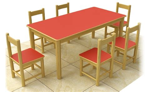 wooden study table and chair proof wood preschool chairs and tables 6 seats