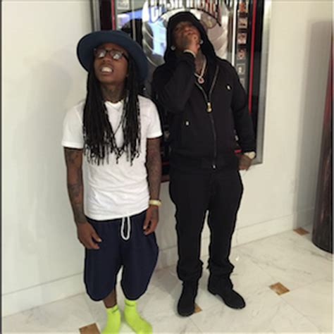 instagram flexin jacquees looks eerily like lil wayne in