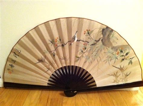 large decorative wall fans large fan decorative wall fan 36 open bamboo