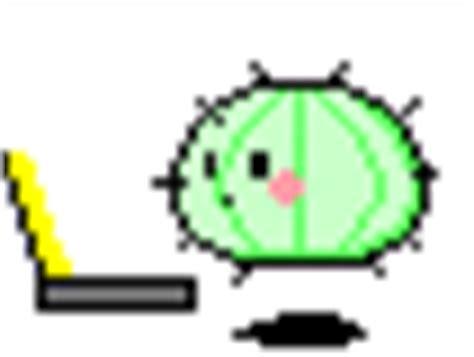 Kaos Cactus japanese kaos emoticon 175 176 smilchat 6000 free
