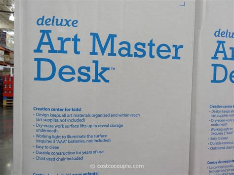 step2 deluxe art master desk step2 deluxe art master desk with chair costco best home