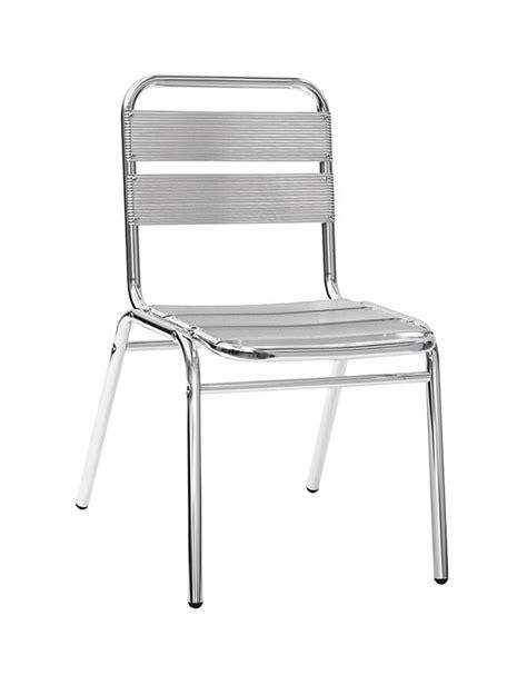 sedie alluminio sedia in alluminio tutto alluminio sedie linea