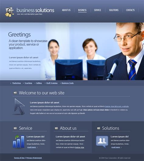 Decision Making Web Template 6172 Business Website Templates Dreamtemplate Business Website Templates